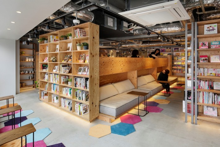 Tsutaya Book Apartment Created The Concept Of A E Coworking And That Can Relax While Surrounded By Books